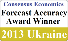 Consensus Economics Badge Ukraine 2013